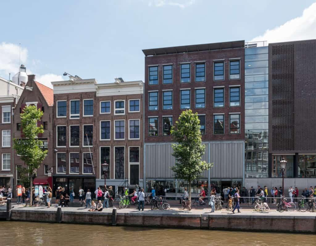 Casa di Anna Frank Jordaan Amsterdam